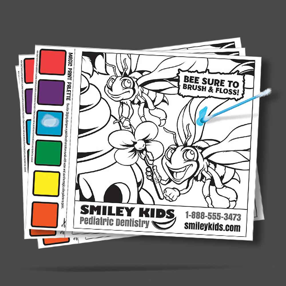 custom paint sheets for a dentistry theme